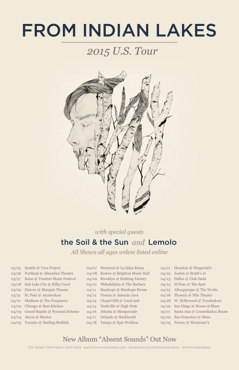 2015 Spring Tour (From Indian Lakes)